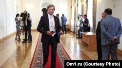 Депутат Заксобрания Омской области Сергей Калинин, архивное фото