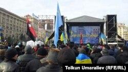 Բողոքի ցույցը Կիևում, 3-ը դեկտեմբերի, 2013թ․