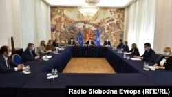 Пендаровски на средба со членовите на ДИК