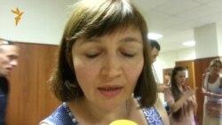 Слушания по Болотному делу: активистка Наталья Дмитриева