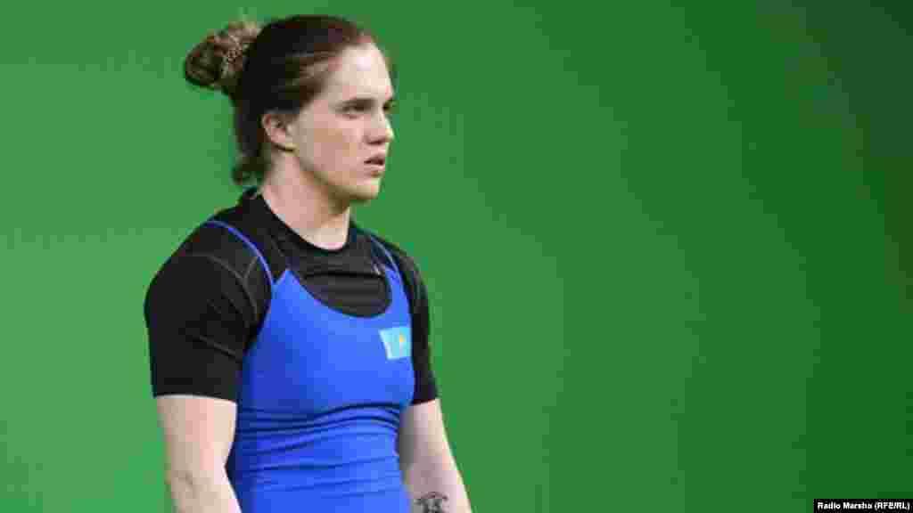 Карина Горичева– тяжелая атлетика, 23 года, Казахстан, призер (3 место) Олимпиады в Рио.
