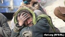 آرشیف، په کابل کې یو معتاد. 12.27.2017