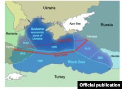 Noua rută a gazoductului South Stream