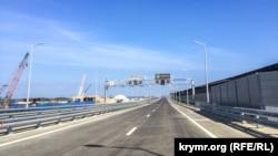 Керченский мост в день открытия. 16 мая 2018 года