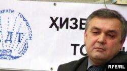 Маъсуд Собиров, председатель Демократической партии Таджикистана.