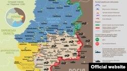 Ситуація в зоні бойових дій на Донбасі, 7 березня 2015 року