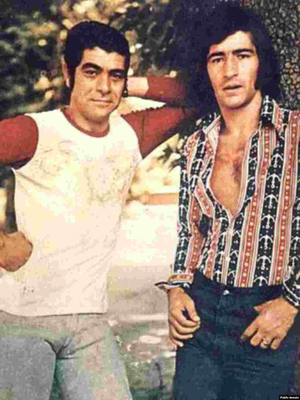 حجازی و بهروز وثوقی، ۱۹۷۰.