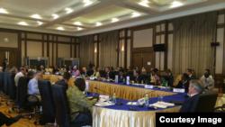 Заседание EITI.Мьянма