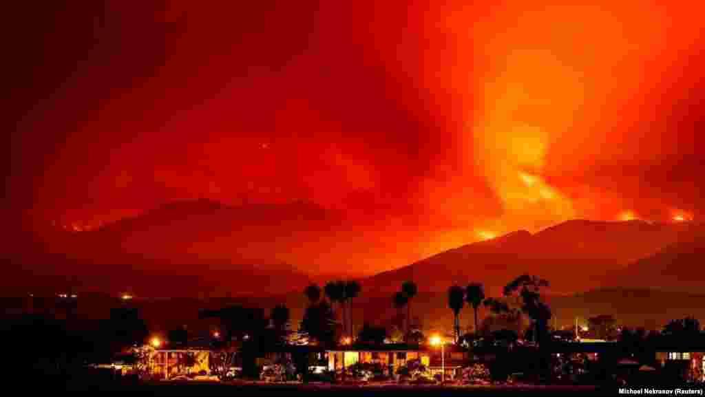 Американський штат Каліфорнія цього року охопила одна із найпотужніших пожеж за останні кілька років – за тиждень сталося 630 загорянь