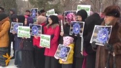 20.01.2015 Новинарски протест во Македонија, верски во Киргистан