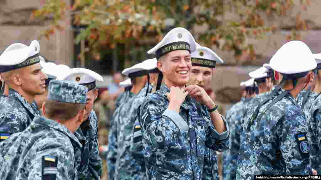 Курсанти інституту Військово морських сил України