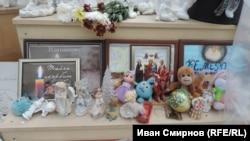 "Мемориал у ""Зимней вишни"""