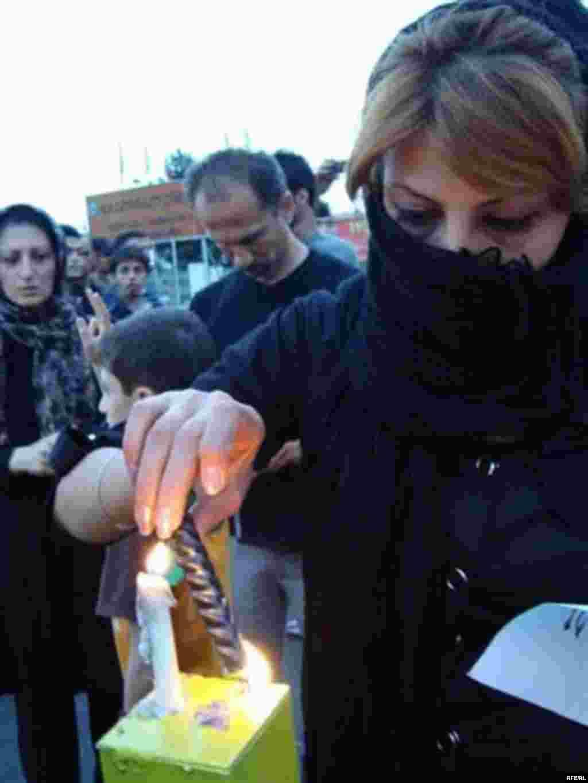 İranda etiraz səsləri yalnız kişilərin deyil #2
