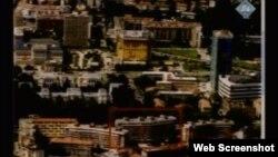 Karta Sarajeva koju je na suđenju koristila obrana, 10. prosinac 2012.