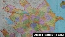 Azərbaycanın siyasi-inzibati xəritəsi