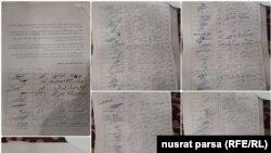 مریم سما در کنار برخی از نمایندهگان دیگر از جمله کسانی است که این امضاها را جمع آوری کردهاست.
