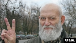 Belarusian human rights activist Valery Shchukin admits it's hard, if not impossible, to control him.