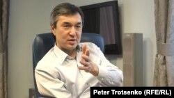 Бизнесмен и общественный деятель Раимбек Баталов. Алматы, 15 декабря 2016 года.