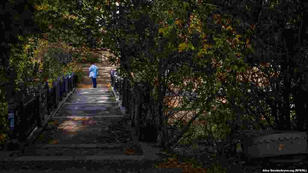 Уютный мостик через Салгир
