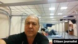 Professor Y.Mansurov Sheremetyevo aeroporti izolyatorida