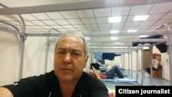 Профессор Йўлбарсхон Мансуров Шереметьево аэропортидаги полиция изоляторида.