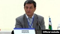 """""""Адолат"""" партиясынын лидери Нариман Умаров."""