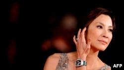 میشل یئو، بازیگر مالزیایی نقش آنگ سان سوچی در فیلم «بانو»
