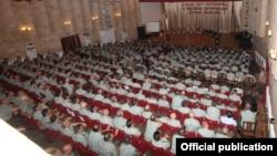 Nagorno-Karabakh - The Armenian top military brass meets in Stepanakert, 20Jul2013.