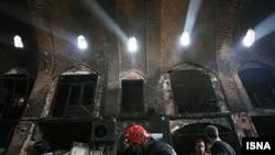 بازار قدیمی تبریز پس از حریق گسترده سال گذشته