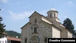 Manasti Visoki Dečani na Kosovu
