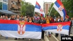 Акція протесту сербів Косова, травень 2012 року