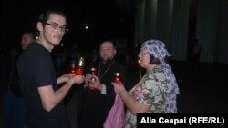 Noaptea Învierii, Focul Haric şi iarmaroc pascal la Chişinău. Galerie foto: Alla Ceapai