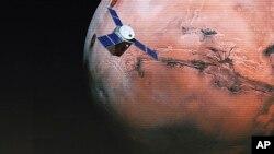 پژوهشهای فعلی نشان میدهد که دمای سطح مناطق قطبی مریخ حدود ۱۱۳ درجه زیر صفر است.