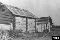 Дом в селе Герасимовка, в котором родился и жил Павлик Морозов