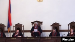 Заседание Конституционного суда Армении (архив)