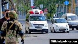 Ուզբեկստան - Տաշքենդում կարանտին է, 24-ը հունիսի, 2020թ.