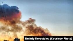 Пожар во Владимировке