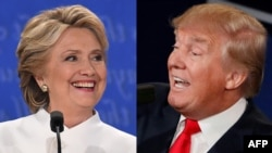 Hillary Clinton dhe Donald Trump