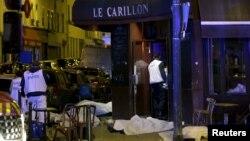 Одне з місць нападу бойовиків у Парижі, 13 листопада 2015 року