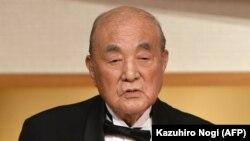 Жапониянын мурдагы премьер-министри Ясухиро Накасоне.