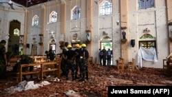 Вибухи у трьох церквах і трьох готелях на Шрі-Ланці сталися вранці 21 квітня, під час святкування Великодня