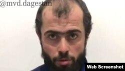 Задержанный работник автомойки, скриншот с видео МВД по Дагестану