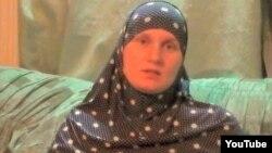 Осужденная по обвинению в терроризме жительница Астаны Наталья Войтенкова. Скриншот видеозаписи на YouTube.