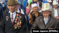 Бишкектеги Жеңиш майрамы