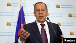 Министр иностранных дел России Сергей Ларов(архив)