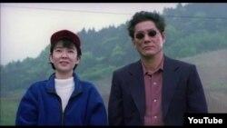 """Takeshi Kitano """"Atəşfəşanlıq"""" filmində, 1997."""