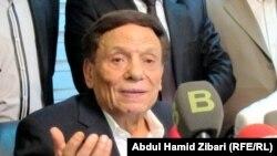 عادل إمام يتحدث في أربيل