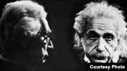 """Бертран Рассел и Альберт Эйнштейн: «Искоренение войн потребует мер по ограничению национального суверенитета, которые будет ущемлять чувство национальной гордости». [Фото — <a href=""""http://www.pugwash.org/index.htm"""" target=_blank>Pugwash</a>]"""