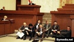 Галадоўка дэпутатаў Вярхоўнага Савета супраць рэфэрэндуму, 1995