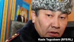 Жаңаөзен қаласының коменданты Аманжол Қабылов. 21 желтоқсан 2011 жыл.